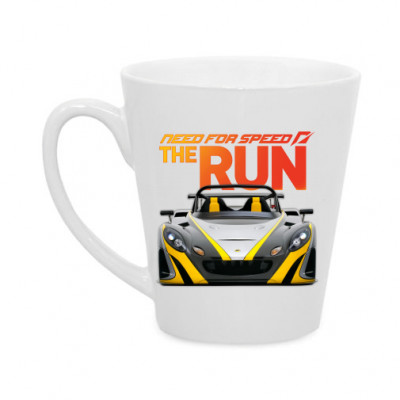 Кружка латте Need for Speed the run -