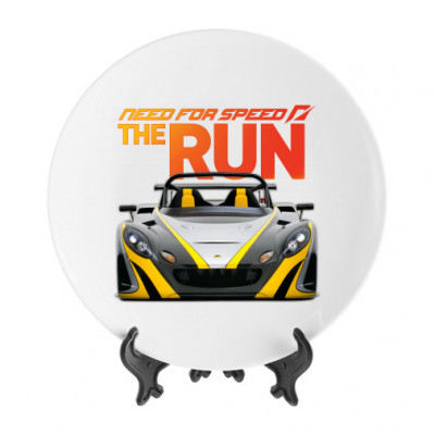 Тарелка Need for Speed the run -