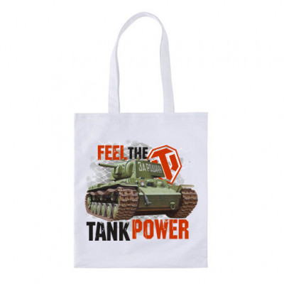 "Сумка ""Шоппер"" Feel the tank power -"