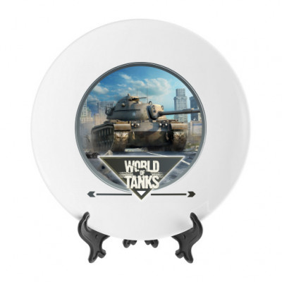Тарелка World of tanks – прицел -