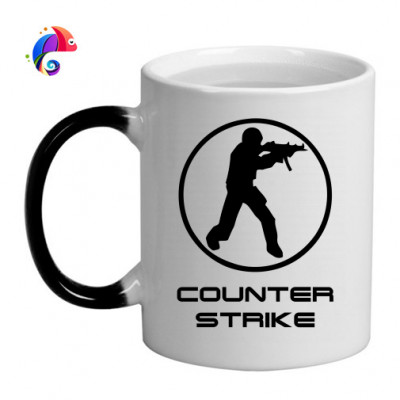 Кружка хамелеон Counter strike -