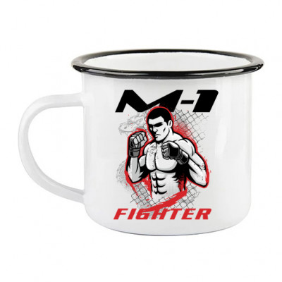Кружка ретро M1 figter -