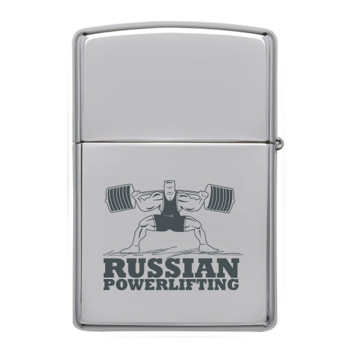Зажигалка Powerlifting -