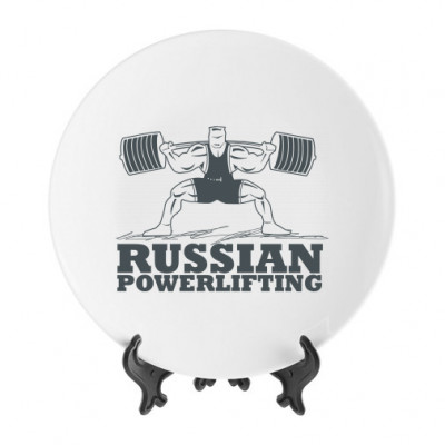 Тарелка Powerlifting -