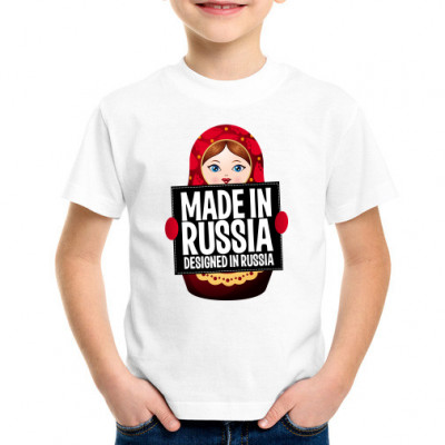 Детская футболка Made-in-Russia -