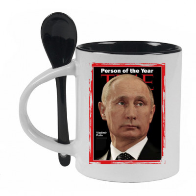 Кружка с ложечкой Person of the year -
