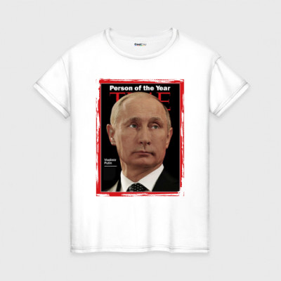 Женская футболка Person of the year -